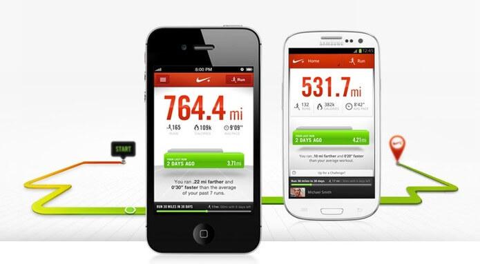 Aplicativo para emagrecer - Nike+ Running