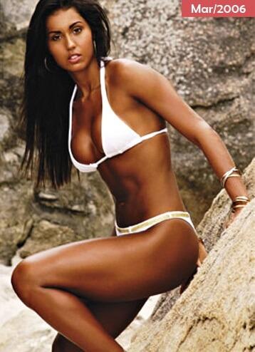 Gracyanne Barbosa antes da academia